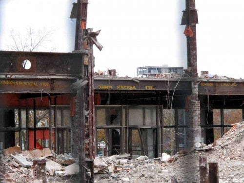 Exposing Dominion Structural Steel